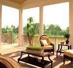 Interior Screened Porch