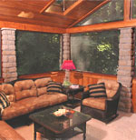 Interior Lodge Screened Porch